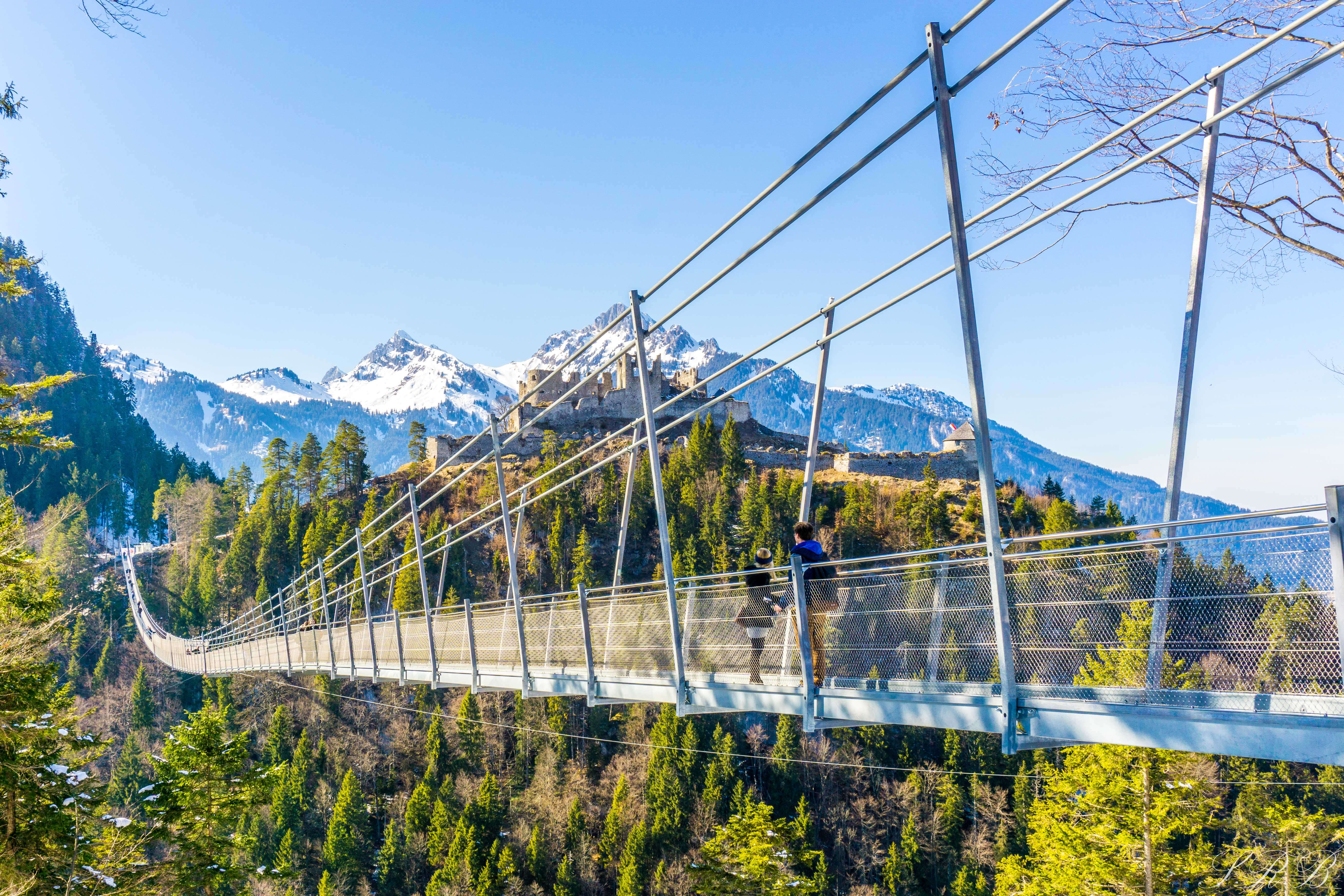 Füssen, Germany Suspension Bridges and Fairytale Castles